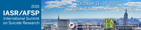 IASR/AFSP International Summit on Suicide Research